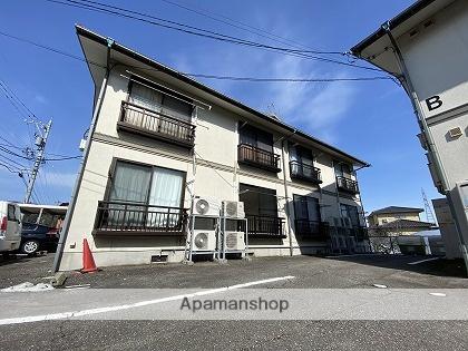 富山県富山市、西富山駅徒歩15分の築22年 2階建の賃貸アパート
