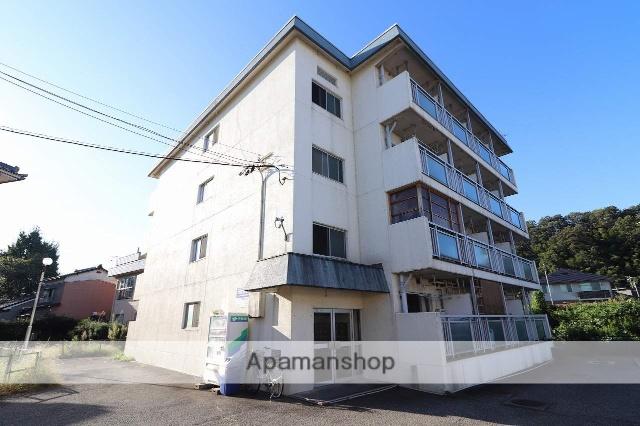 富山県富山市、西富山駅徒歩16分の築35年 4階建の賃貸マンション