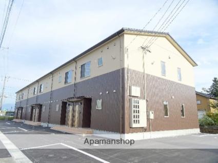 富山県富山市、越中荏原駅徒歩18分の築2年 2階建の賃貸アパート