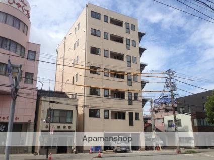 富山県富山市、荒町駅徒歩7分の築2年 7階建の賃貸マンション