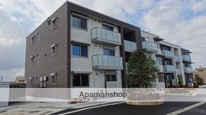 富山県富山市、東新庄駅徒歩20分の築1年 3階建の賃貸アパート