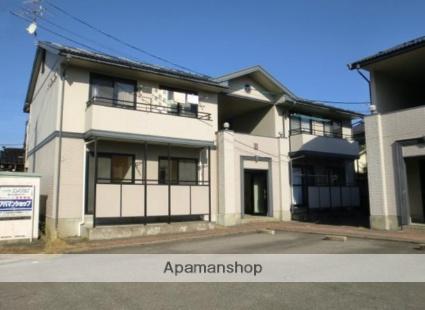 富山県富山市、大町駅徒歩2分の築23年 2階建の賃貸アパート