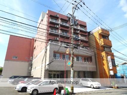 富山県富山市、西町駅徒歩8分の築37年 5階建の賃貸マンション