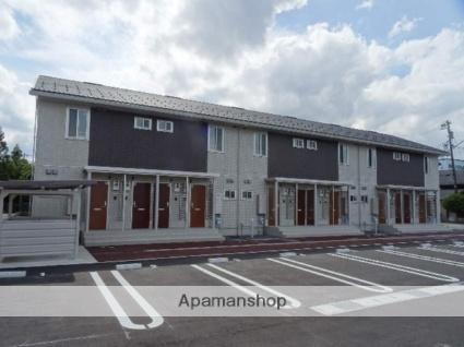 富山県富山市、稲荷町駅徒歩11分の築1年 2階建の賃貸アパート