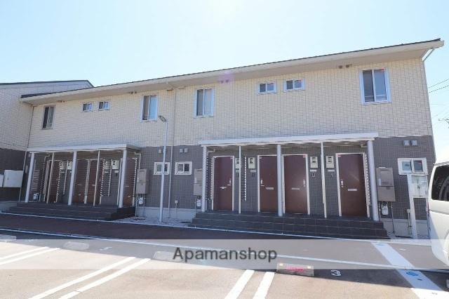 富山県富山市、上堀駅徒歩17分の築1年 2階建の賃貸アパート