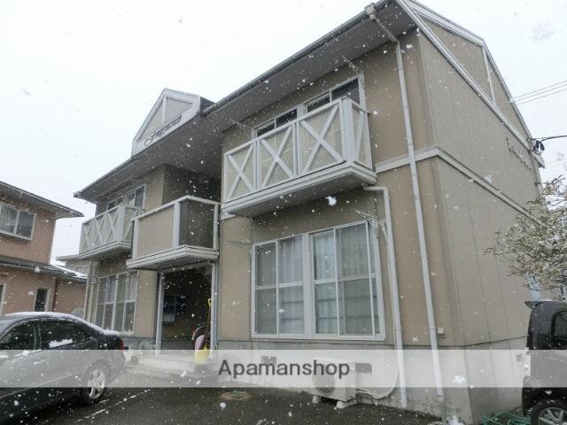 富山県富山市、呉羽駅徒歩4分の築26年 2階建の賃貸アパート