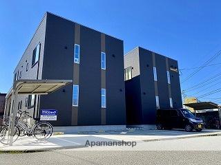 富山県富山市、大学前駅徒歩8分の新築 2階建の賃貸アパート