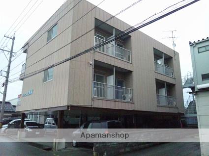 富山県富山市の築26年 3階建の賃貸アパート