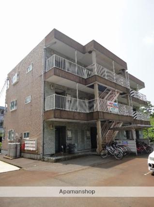 富山県富山市、西富山駅徒歩17分の築14年 3階建の賃貸アパート