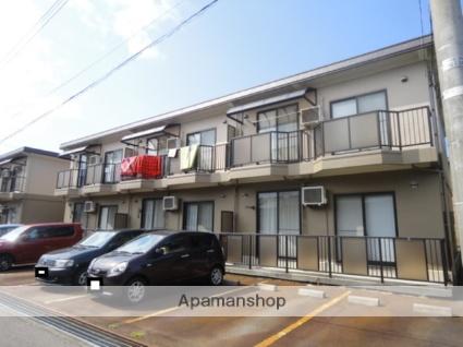 富山県富山市、西富山駅徒歩30分の築18年 2階建の賃貸マンション
