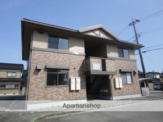 富山県富山市、西富山駅徒歩12分の築15年 2階建の賃貸アパート