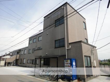 富山県富山市、西富山駅徒歩10分の築21年 3階建の賃貸マンション