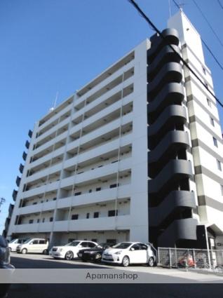 富山県富山市の築24年 9階建の賃貸マンション