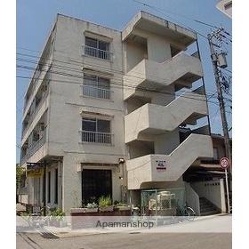 富山県富山市、稲荷町駅徒歩13分の築33年 4階建の賃貸アパート
