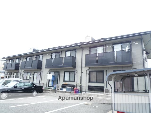 富山県富山市、朝菜町駅徒歩7分の築14年 2階建の賃貸アパート