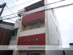 富山県富山市、稲荷町駅徒歩13分の築31年 4階建の賃貸マンション