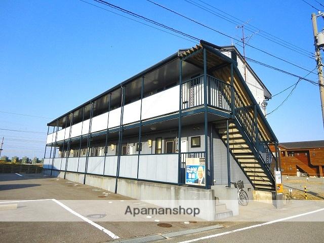 富山県富山市、呉羽駅徒歩2分の築23年 2階建の賃貸アパート