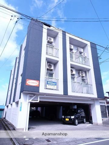 富山県富山市、稲荷町駅徒歩14分の築25年 3階建の賃貸マンション