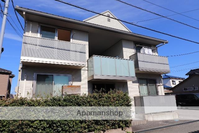 富山県富山市の築6年 2階建の賃貸アパート