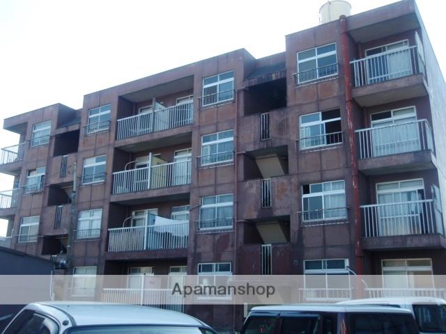 富山県富山市、稲荷町駅徒歩7分の築39年 4階建の賃貸マンション