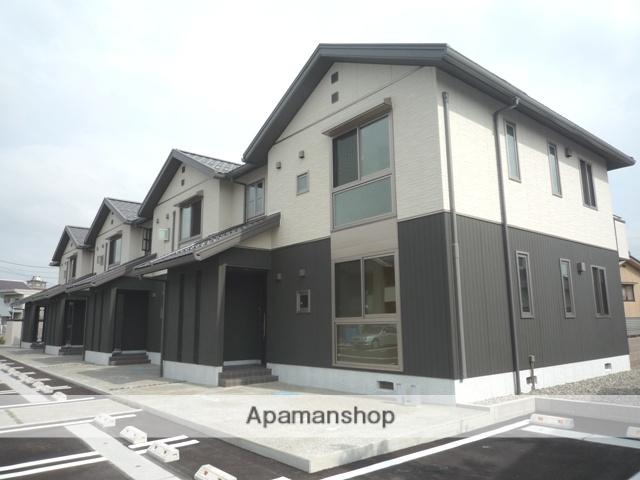 富山県富山市、大町駅徒歩7分の築8年 2階建の賃貸アパート