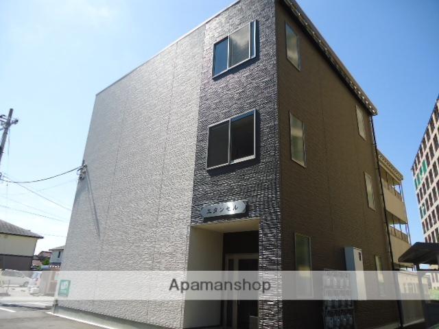 富山県富山市、南富山駅徒歩14分の築1年 3階建の賃貸アパート