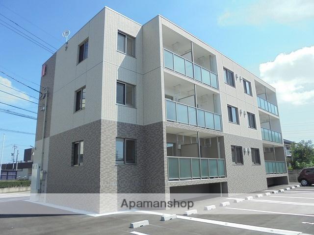 富山県富山市、婦中鵜坂駅徒歩20分の築1年 3階建の賃貸マンション