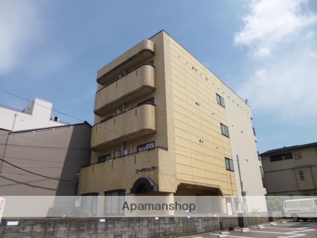富山県富山市、上本町駅徒歩6分の築29年 4階建の賃貸マンション