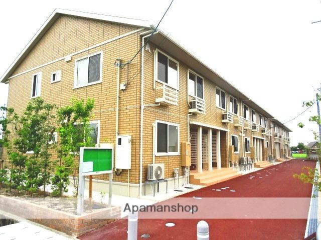 富山県富山市、朝菜町駅徒歩28分の築1年 2階建の賃貸アパート