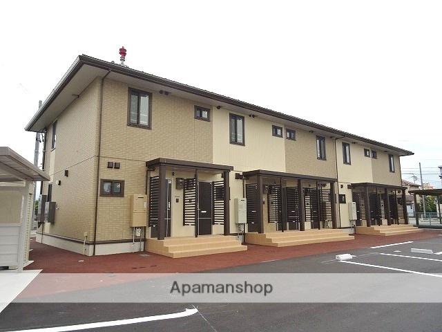 富山県富山市、南富山駅徒歩30分の築1年 2階建の賃貸アパート