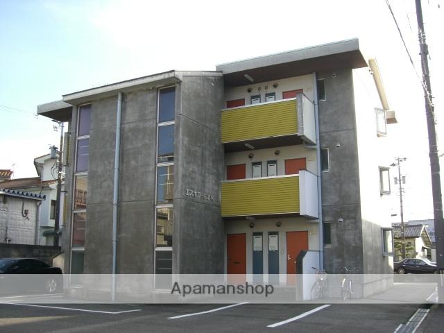 富山県富山市、不二越駅徒歩3分の築30年 3階建の賃貸マンション