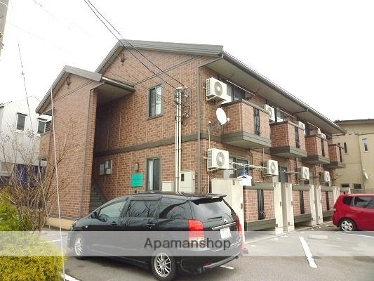 富山県富山市、インテック本社前駅徒歩17分の築10年 2階建の賃貸アパート