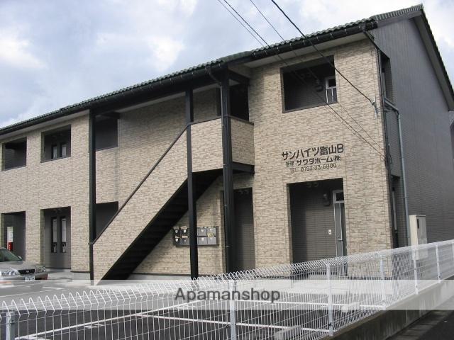 富山県富山市、速星駅徒歩10分の築12年 2階建の賃貸アパート