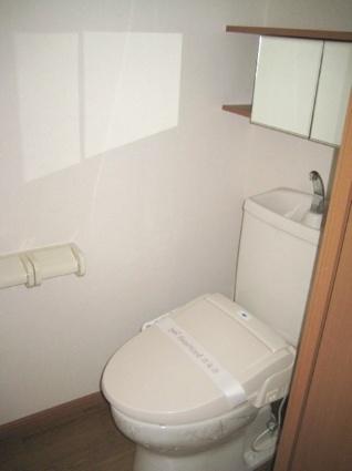 アイディールK[1LDK/40.92m2]のトイレ