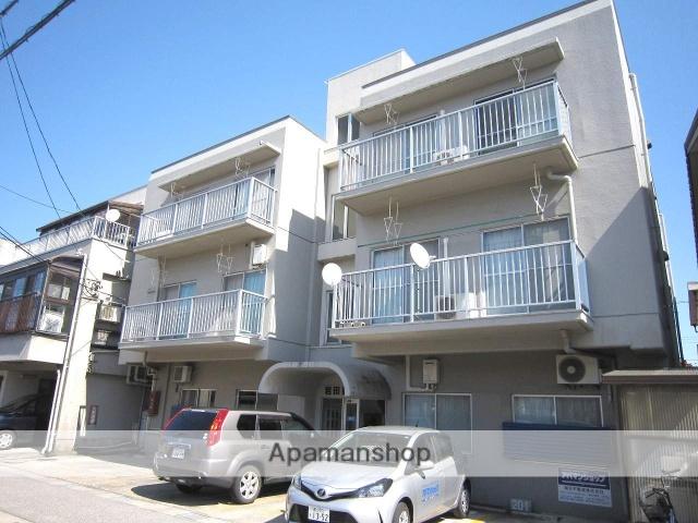 富山県富山市、下奥井駅徒歩8分の築35年 3階建の賃貸マンション