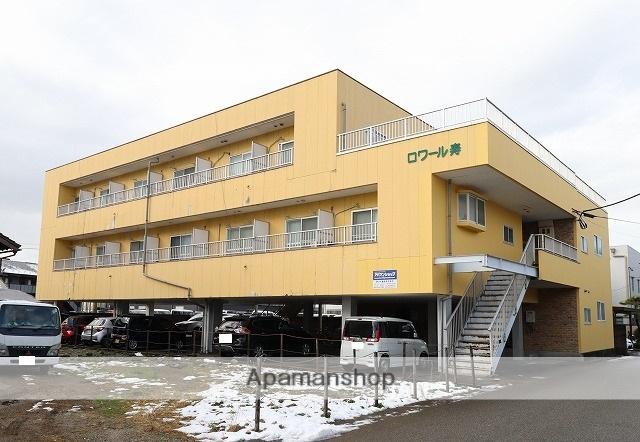 富山県富山市、富山駅徒歩12分の築26年 3階建の賃貸アパート