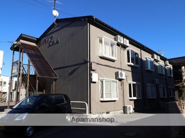 富山県富山市、城川原駅徒歩4分の築26年 2階建の賃貸アパート