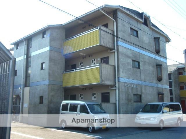 富山県富山市、稲荷町駅徒歩16分の築21年 3階建の賃貸マンション