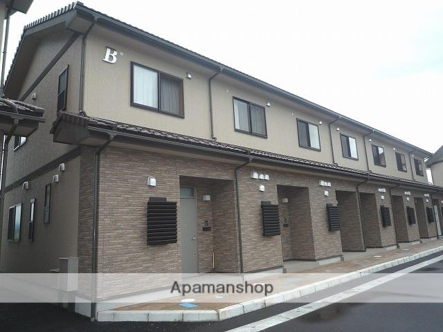 富山県富山市の築8年 2階建の賃貸テラスハウス