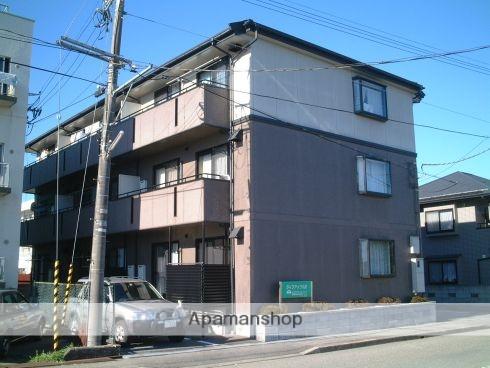 富山県富山市、大町駅徒歩4分の築20年 3階建の賃貸アパート
