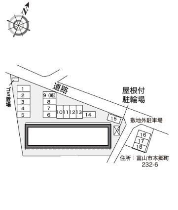 レオパレスクレストン[1K/23.61m2]の内装1