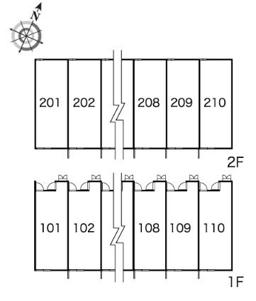 レオパレスクレストン[1K/23.61m2]の内装2