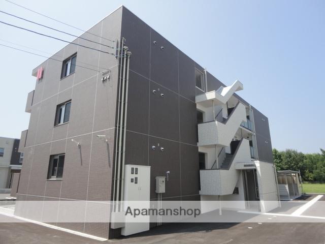 富山県富山市、南富山駅徒歩38分の築1年 3階建の賃貸マンション
