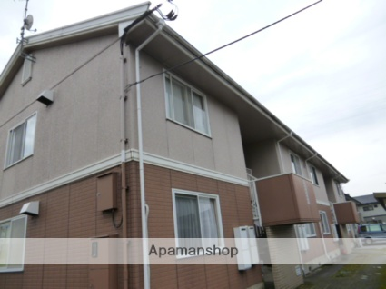 富山県富山市、稲荷町駅徒歩16分の築23年 2階建の賃貸アパート