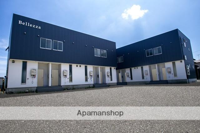 富山県富山市、東新庄駅徒歩15分の築1年 2階建の賃貸アパート