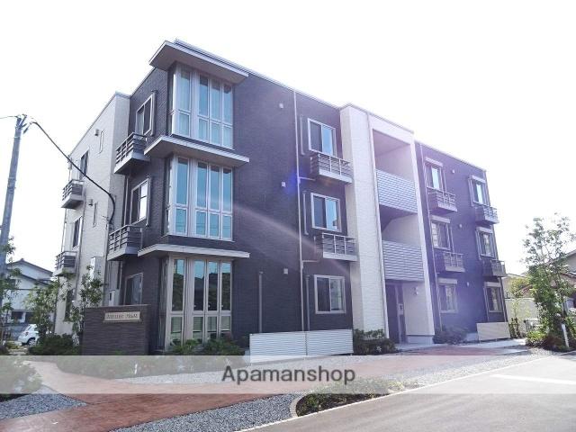 富山県富山市、稲荷町駅徒歩5分の新築 3階建の賃貸マンション