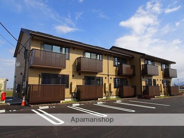 富山県中新川郡立山町、越中三郷駅徒歩34分の築1年 2階建の賃貸アパート