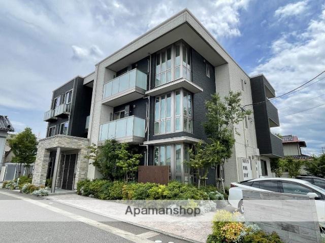 富山県富山市、不二越駅徒歩10分の新築 3階建の賃貸マンション