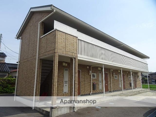 富山県富山市、下奥井駅徒歩10分の築9年 2階建の賃貸アパート