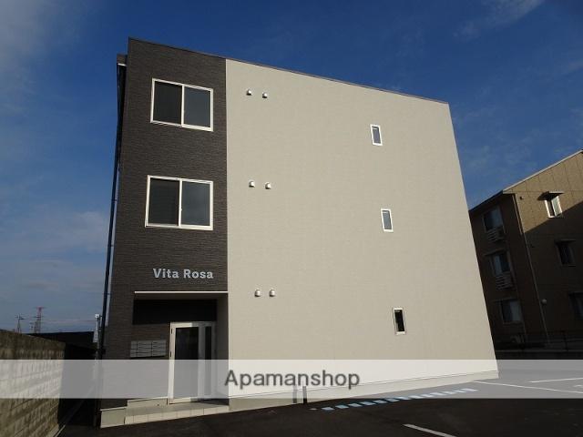 富山県富山市の新築 3階建の賃貸マンション